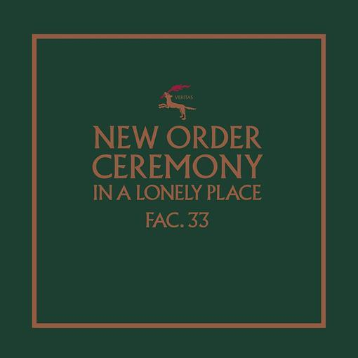 NEW ORDER - CEREMONY (version 1) 12INCH Single