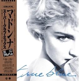 MADONNA - TRUE BLUE 12''EP (blue/rsd19) LP