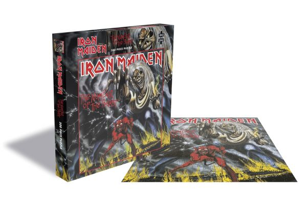 IRON MAIDEN - NUMBER OF THE BEAST PUZZLE 500 PIECE