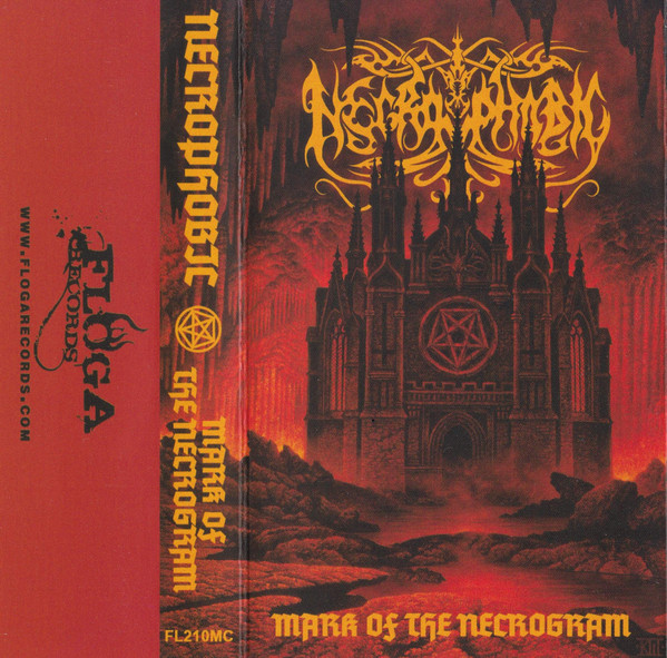 NECROPHOBIC - MARK OF NECROGRAM...MC